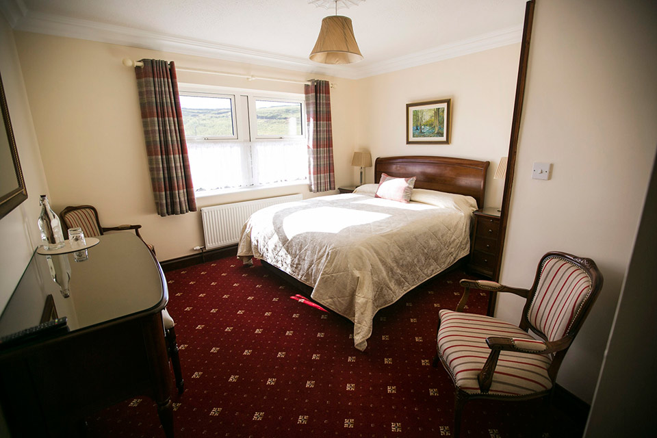 guest room at mononey house